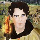 Saint Aidan of Lindisfarne by Rowan  Lewgalon