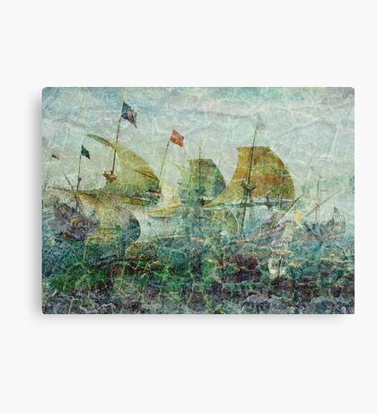 Under Full Sail II Canvas Print