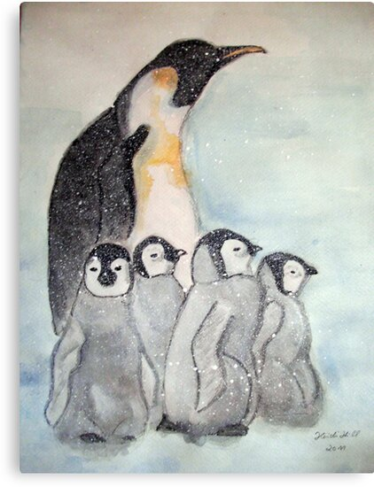 KING PENGUIN by Heidi Mooney-Hill