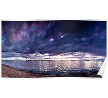 Stormy sky Poster