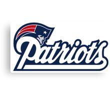 Patriots Logo  Canvas Print