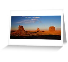 Monument Valley panorama Greeting Card