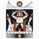 Castle Crashers - Heraldry of the Orange Knight by Bratwurst !