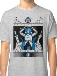 Castle Crashers - Heraldry of the Blue Knight Classic T-Shirt