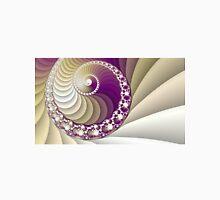 Abstract spiral fractal art Unisex T-Shirt