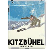 Ski Kitzbühel Austria (eroded) iPad Case/Skin