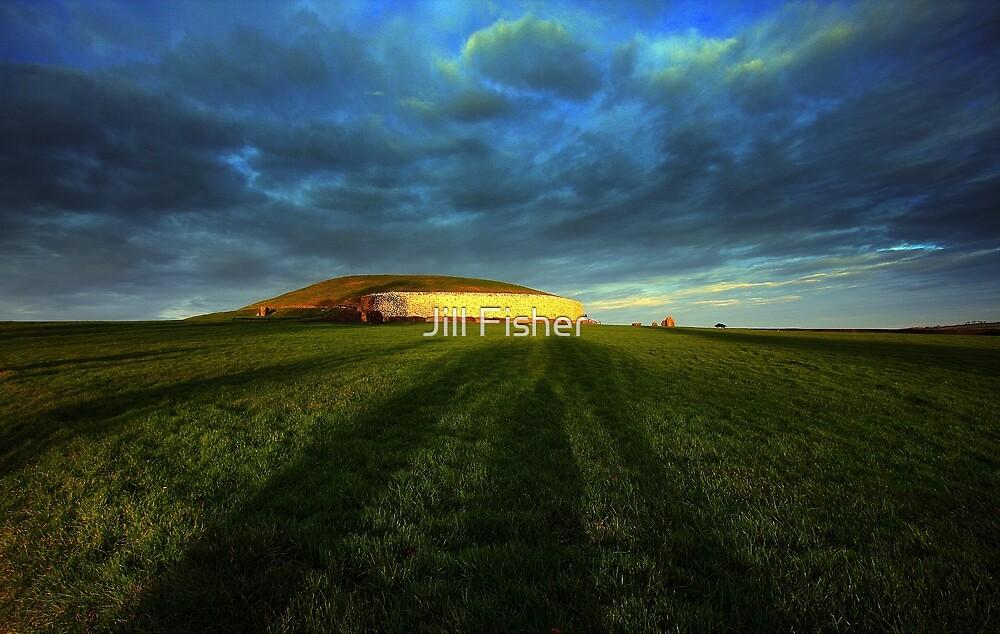 Newgrange by Jill Fisher