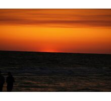 Sunset on the Gulf of Mexico Photographic Print