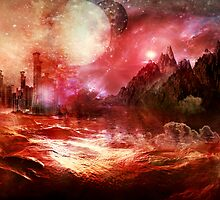 The Red Planet by Vanessa Barklay