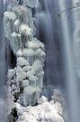 Moss Glen Falls, Stowe - Icy Column by Stephen Beattie