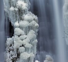 Moss Glen Falls, Stowe - Icy Column by Stephen Beattie