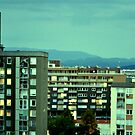 Urban horizon by Katarina Kuhar
