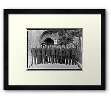 RAF Class Photo Framed Print