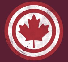 Captain Canada (Distressed) by trekvix