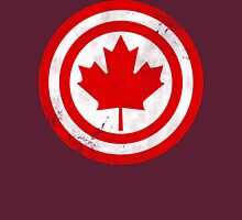 Captain Canada (Distressed) Womens T-Shirt
