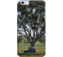 Under the tree iPhone Case/Skin