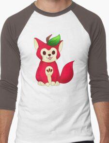 Fruit Cats: Apple Cat Men's Baseball ¾ T-Shirt