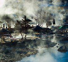 December Morning - Pagosa Springs Colorado by Andrea Gatley