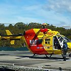 Westpac Rescue Helicopter, NSW by PollyBrown