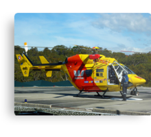 Westpac Rescue Helicopter, NSW Metal Print