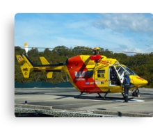 Westpac Rescue Helicopter, NSW Canvas Print