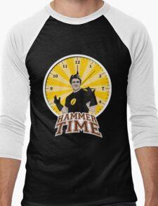 Hammer Time Men's Baseball ¾ T-Shirt