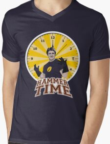 Hammer Time Mens V-Neck T-Shirt