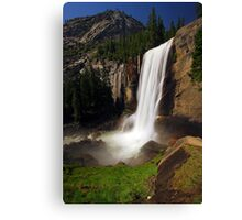 Vernal Fall from Mist Trail Canvas Print