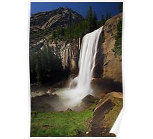 Vernal Fall from Mist Trail Poster