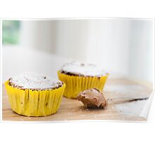 Chocolate Coconut Cupcakes Poster