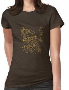 KOBUDO  (古武道)  Womens Fitted T-Shirt
