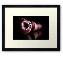 An Apple a day keeps the doctor away..... Framed Print