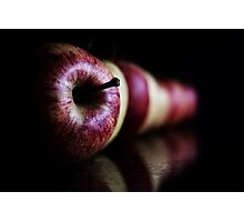 An Apple a day keeps the doctor away..... Photographic Print