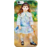 Pierre-Auguste Renoir - Boy with a Whip iPhone Case/Skin