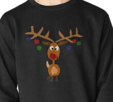 Awesome Rudolph Red Nosed Reindeer Christmas Art  Pullover