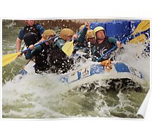 White Water Rafting Poster