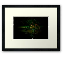 Shadow Of His Former Self (Please Read Notes) Framed Print