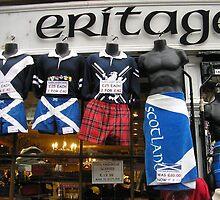 Trading Torsos! Royal Mile, Edinburgh, Scotland by MagsWilliamson