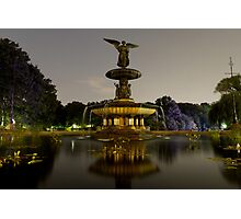 Bethesda Fountain, Central Park Photographic Print
