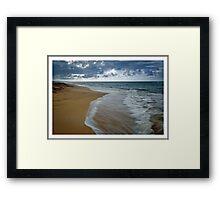 """""""Loiza Beach"""", Puerto Rico Framed Print"""