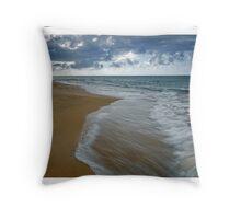"""""""Loiza Beach"""", Puerto Rico Throw Pillow"""