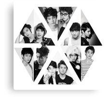 EXO LOGO GROUP Canvas Print