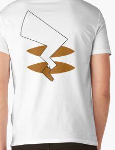 Pika Tail Mens V-Neck T-Shirt