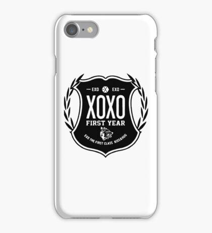 EXO LOGO XOXO FIRST YEAR iPhone Case/Skin