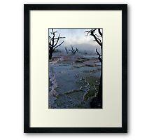 Mystery - Mammoth Hot Springs Framed Print