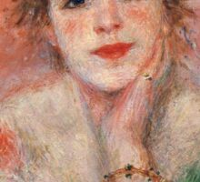 Pierre-Auguste Renoir - La Reverie Sticker