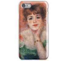 Pierre-Auguste Renoir - La Reverie iPhone Case/Skin