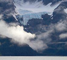 Glacier above by Walter Quirtmair