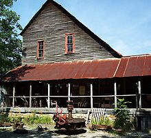 The Old Dawt Mill. Mo. Ozarks by NatureGreeting Cards ©ccwri