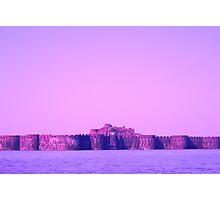 Fort Inside Sea Photographic Print